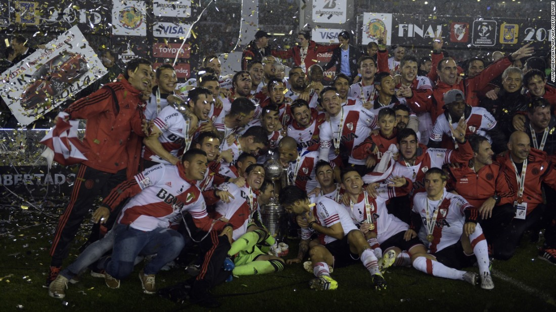 It was the third Libertadores title the Buenos Aires club has won in their history, 19 years after claiming their last.
