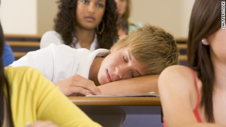 In 2014, the American Academy of Pediatrics recommended that schools start no earlier than 8:30 a.m., so teens can get more sleep.
