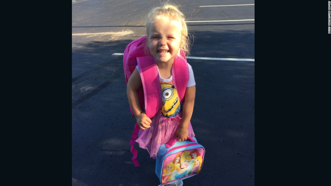 It's back-to-school season, and students around the country are packing up to head to class. But backpacks aren't just for big kids!<br /><br />Ohio preschooler Abby is very proud of her new bag that is almost bigger than she is. It holds a mermaid doll, a necklace she made with beads to wear for later, and a pair of dress-up shoes that her mom wouldn't let her wear to school that day.