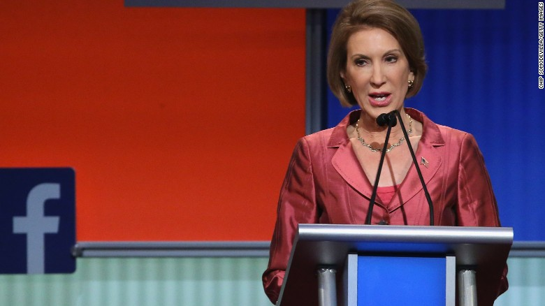 Carly Fiorina: 'I've been underestimated all my life'