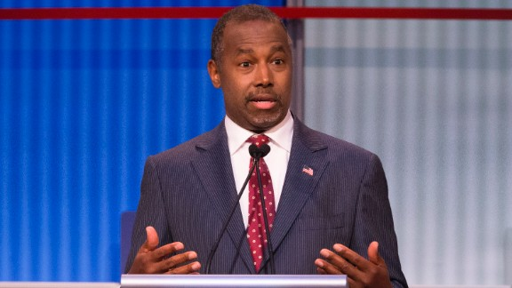 Republican presidential candidate Ben Carson, a retired neurosurgeon, rose to national prominence in 2013 after harshly critiquing the Affordable Care Act at the National Prayer Breakfast, when he warned the U.S. is traveling down the same path as ancient Rome.  Carson, the only African-American onstage, said he was once asked by a reporter why he doesn