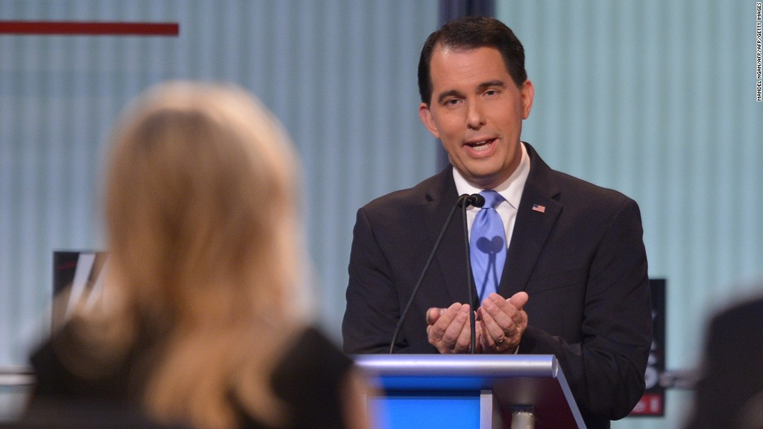 "Wisconsin Gov. <a href=""http://www.cnn.com/interactive/2015/05/politics/2016-election-candidates/#Walker"">Scott Walker</a> is one of the most recognizable and polarizing governors in the country. In 2012, Walker became the only U.S. governor in history to win a recall election, following his effort to limit collective bargaining power for public sector employees.<br /><br />When asked by moderator Megyn Kelly, ""Would you really let a mother die rather than have an abortion?"" Walker replied, ""I'm pro-life, I've always been pro-life, and I've got a position consistent with, I think, many Americans out there."""