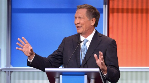 "Ohio Gov. John Kasich was elected to the U.S. House in 1982 and represented Ohio until he unsuccesfully ran for president in 2000. After a nine-year stint in the private sector, Kasich ran a successful campaign for governor of Ohio in 2010, when he defeated Democratic incumbent Gov. Ted Strickland. He was re-elected by a wide margin in 2014.  ""Trump"