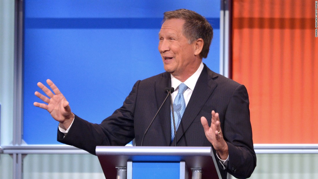 "Ohio Gov. <a href=""http://www.cnn.com/interactive/2015/05/politics/2016-election-candidates/#Kasich"">John Kasich</a> was elected to the U.S. House in 1982 and represented Ohio until he unsuccesfully ran for president in 2000. After a nine-year stint in the private sector, Kasich ran a successful campaign for governor of Ohio in 2010, when he defeated Democratic incumbent Gov. Ted Strickland. He was re-elected by a wide margin in 2014.<br /><br />""Trump's hitting a nerve in this country,"" Kasich said. ""For people that want to just tune him out, they're making a mistake."""