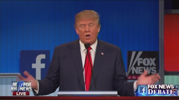Donald Trump Fox News GOP debate Republican party pledge raises hand_00013011.jpg