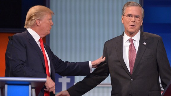 Jeb Bush opposed Donald Trump