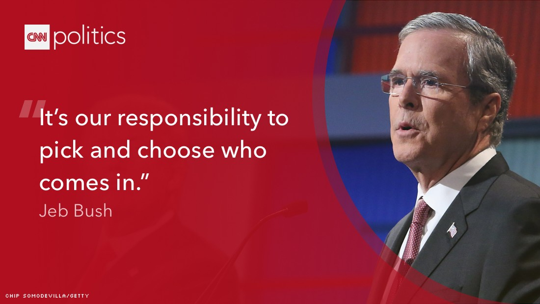 Jeb Bush Quotes Best Gop Debate Biggest Winners Losers Opinions  Cnn