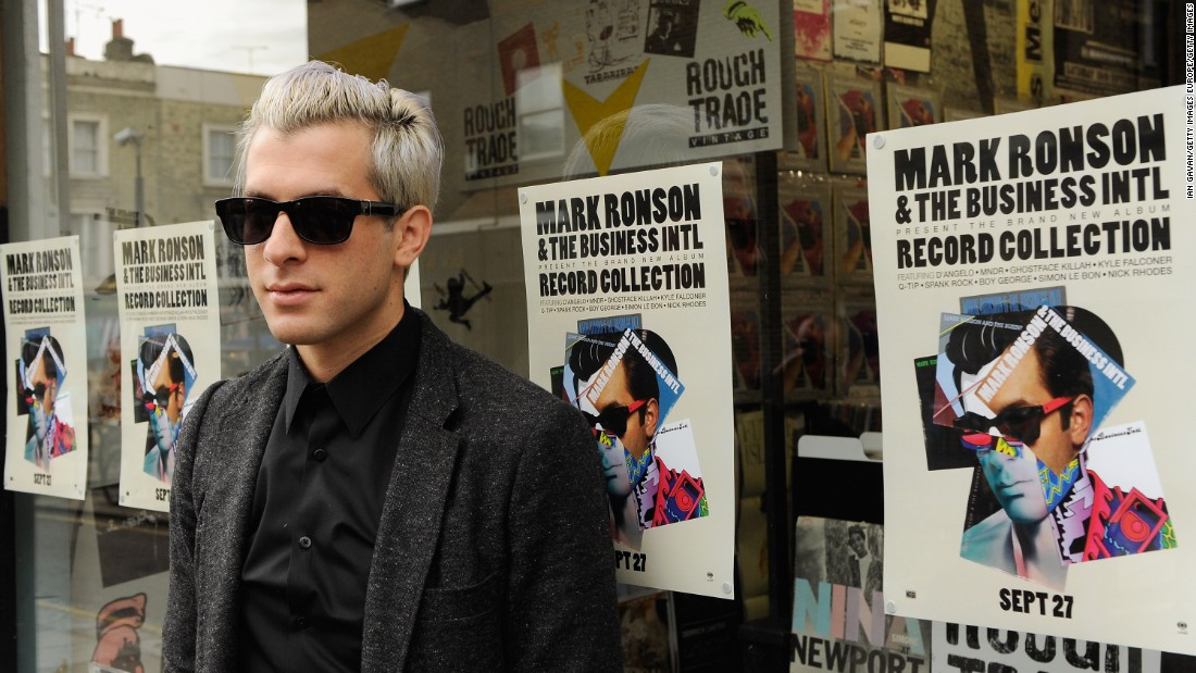 "Singer Mark Ronson at Rough Trade's flagship London store. The company relaunched in 2007 with a mandate to promote vinyl as a cultural experience -- a ""third place"" between work and home."