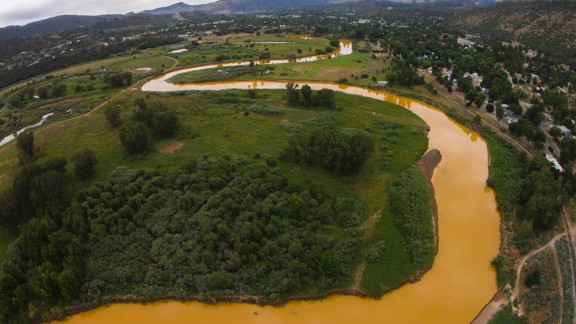 Authorities asked people to stay out of the water until EPA tests confirmed the contamination had dissipated.