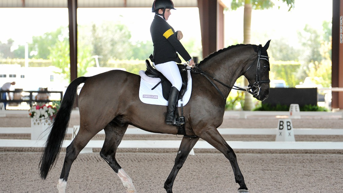 Collier finished ninth of 25 riders at last year's World Equestrian Games and is tipped to star for the United States at the 2016 Rio Paralympics.