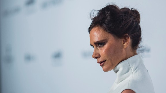 Victoria Beckham  rose to fame as one of the Spice Girls and went on to build a successful career as a fashion designer in a highly competitive field. But that is not enough for some in the media, who insist that she smile more or risk being an RBF.