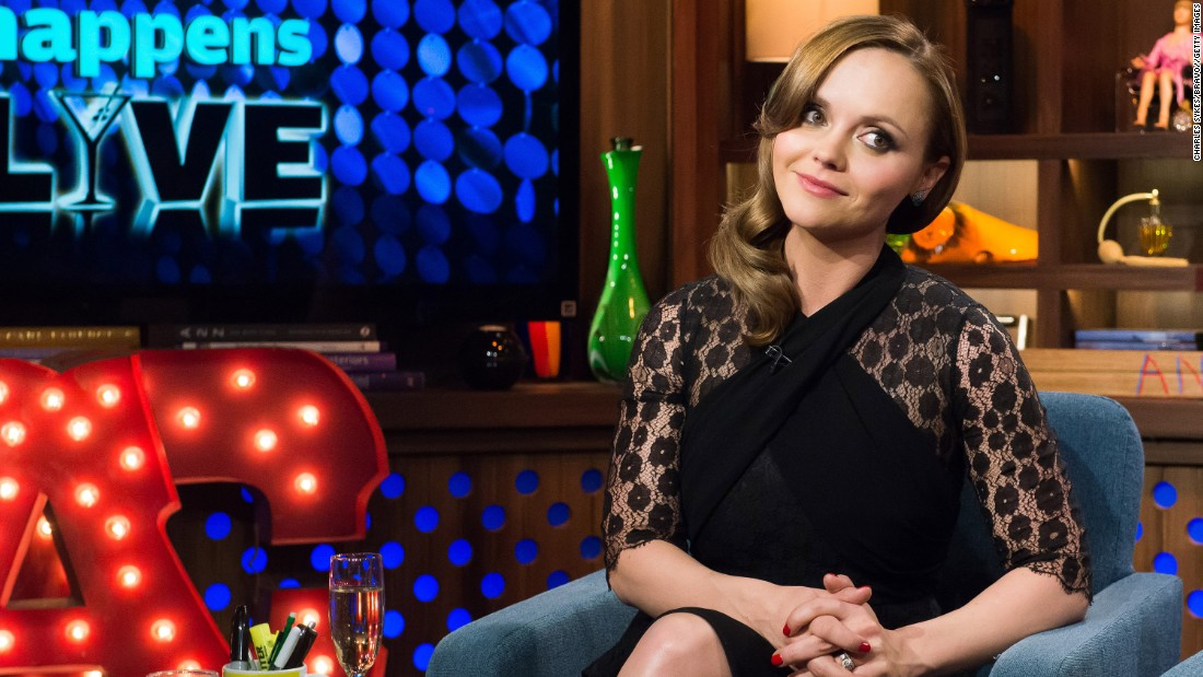 Actress Christina Ricci, whose stock in trade is playing grim, disaffected characters -- she's played Wednesday Addams AND Lizzie Borden -- can't catch a break for wearing a naturally serious expression off screen.