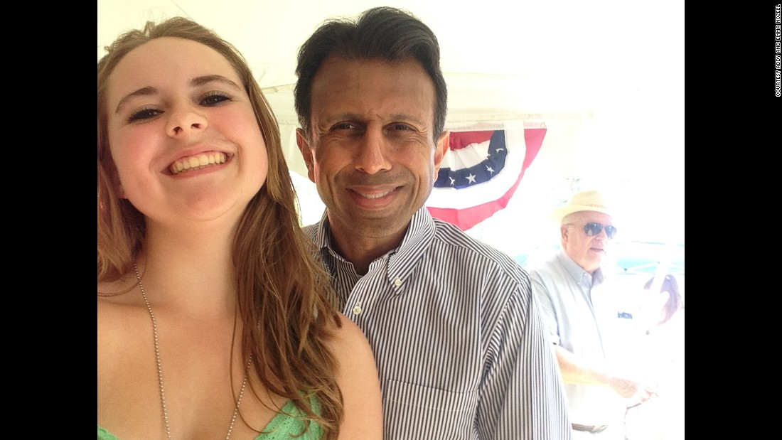 Louisiana governor Bobby Jindal on July 5 in Allenstown, New Hampshire.