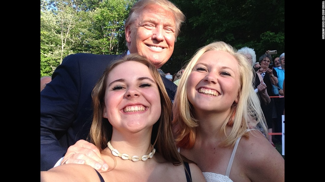 Donald Trump in laconia, New Hampshire on July 16.