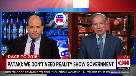 exp RS 0809 Pataki on Trump in the limelight_00025421