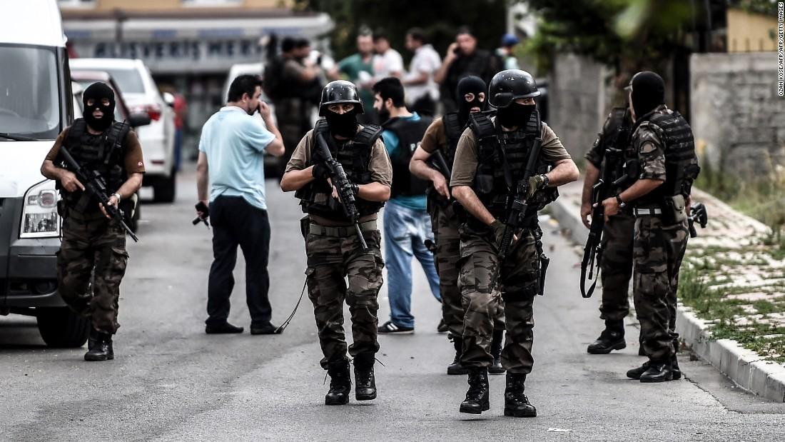 Attacks in Turkey on police, U.S. Consulate