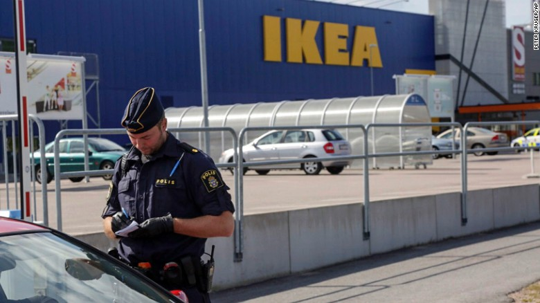 Two fatally stabbed in IKEA