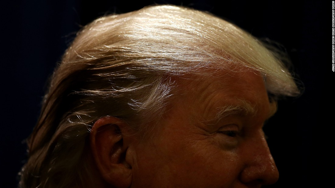 Trumps Comb Over And The Psychology Of Male Hairstyles Cnn