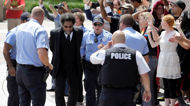 Cornel West on Ferguson: I went there to go to jail