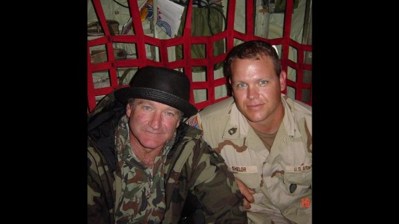 While serving in Afghanistan in 2002, Dan Shelor attended one of the comedian