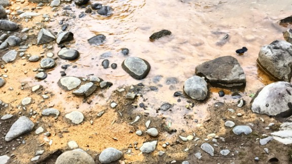 The spill caused a spike in concentrations of total and dissolved metals in the water, the EPA said. Matthew Evans shot this photo August 7.