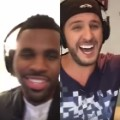 Jason Derulo and Luke Bryan duet