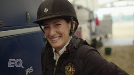 For Jessica Springsteen, horses take center stage