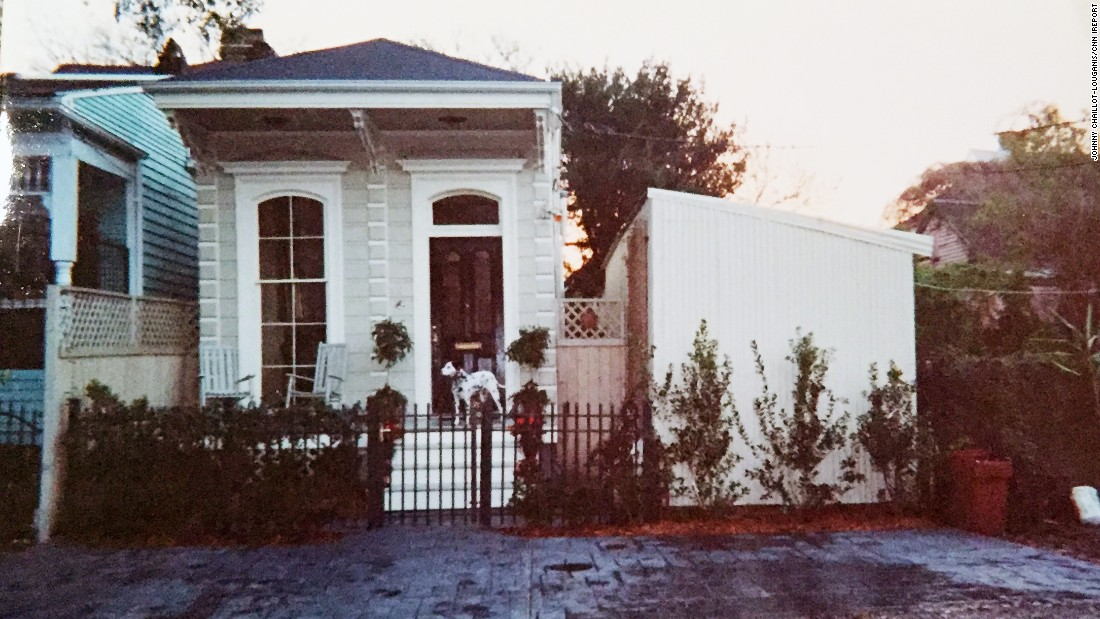 Chaillot-Louganis was living in a Creole cottage right on the Mississippi River in New Orleans when Hurricane Katrina hit. The house survived when the levees broke because it sat on high ground.