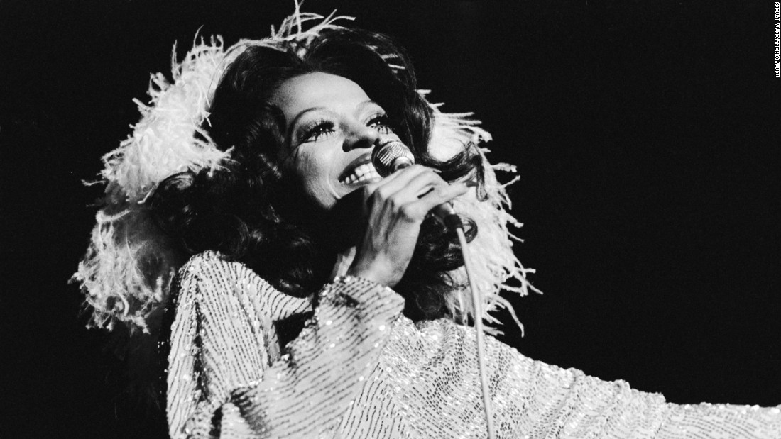 "She found fame in the '60s with the Supremes, but American soul singer Diana Ross had a string of solo pop hits in the '70s, from ""Ain't No Mountain High Enough"" to ""Love Hangover."""