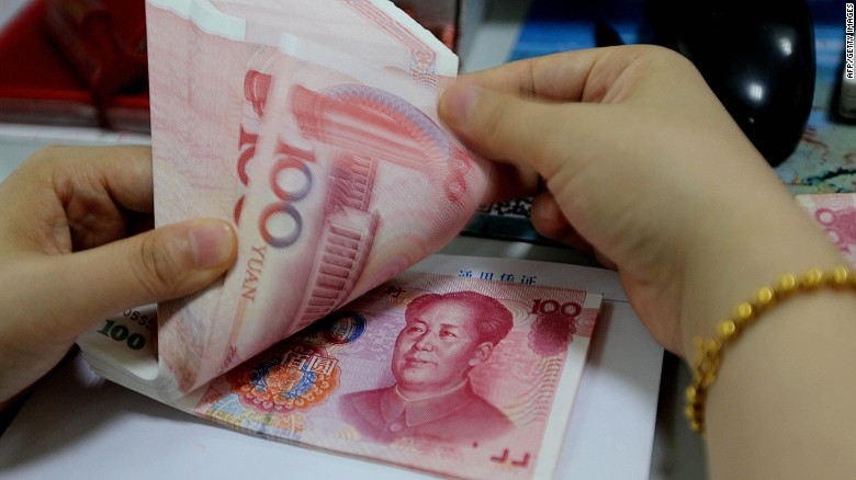 Why did China devalue its currency?