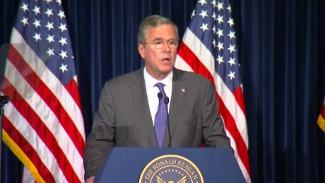 Jeb Bush calls for a 'no-fly zone' in Syria