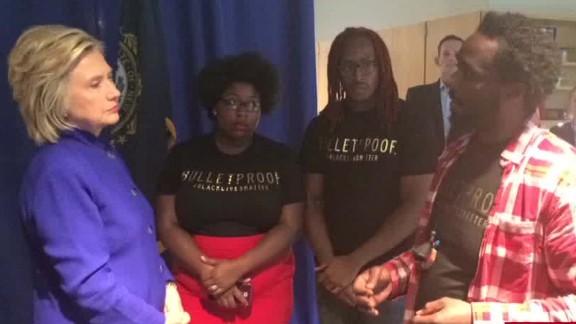 hillary clinton black lives matter protest daunasia yancey intv nr_00003108.jpg