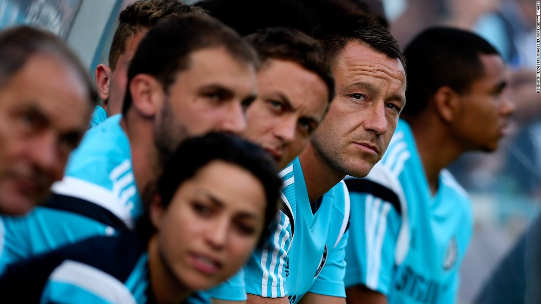 Caneiro, seen here on the Chelsea bench alongside team captain John Terry, joined the club in 2009 and had been first team doctor since 2011.