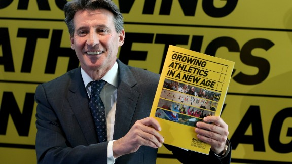 "Sebastian Coe says athetics ""is about a great deal more than doping,"" adding: ""We"