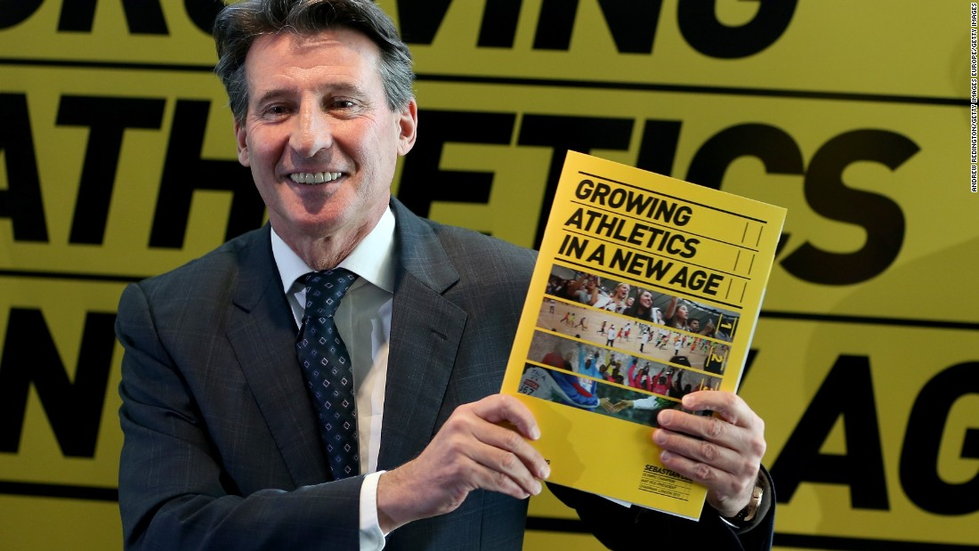 "Sebastian Coe says athetics ""is about a great deal more than doping,"" adding: ""We've chased some of the biggest names out of the sport, and that doesn't come without a cost."""