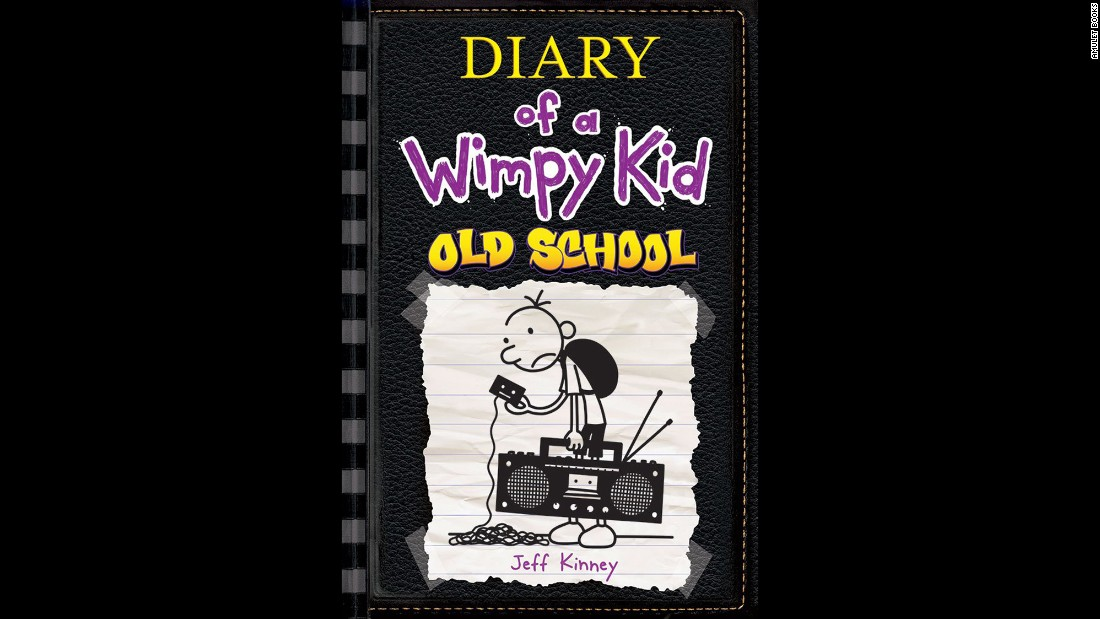 "With the 10th ""Wimpy Kid"" book set for release this November, author Jeff Kinney shows no signs of slowing down. In ""Diary of a Wimpy Kid: Old School,"" young Greg Heffley's town goes electronics-free. We'll see if that's a good thing."