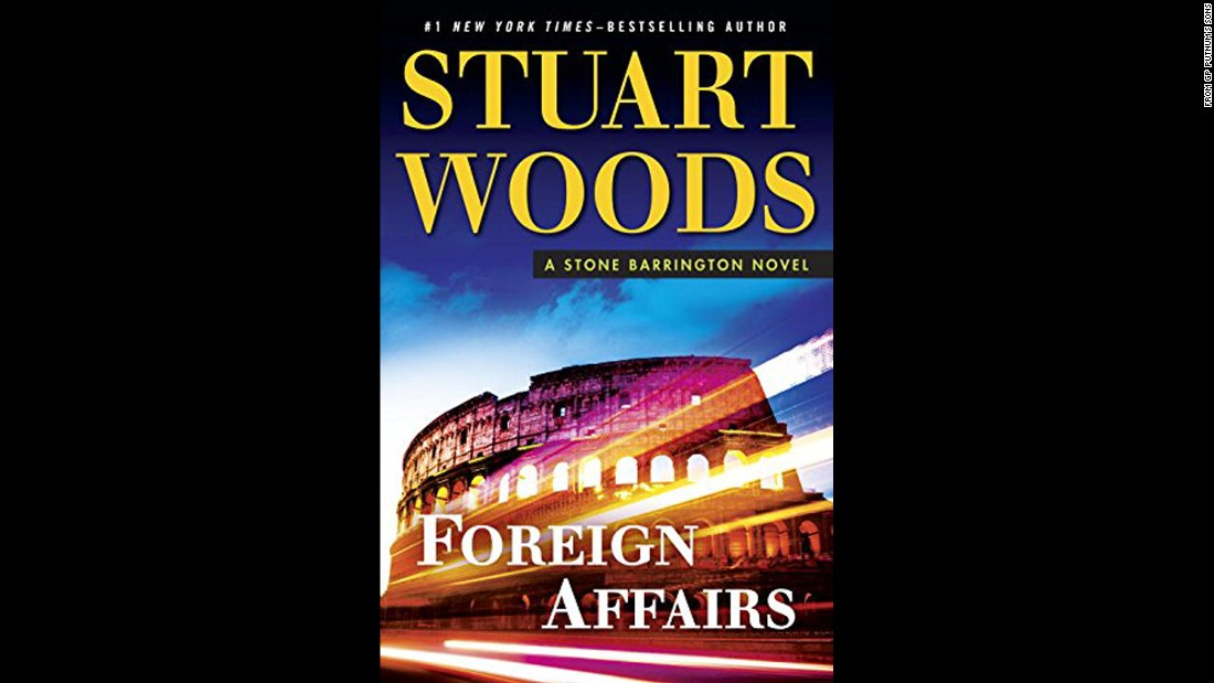 "In Stuart Woods' latest Stone Barrington thriller, ""Foreign Affairs,"" Barrington heads to Europe for a last-minute business trip that seems to be troubled by accidents and other worrisome events. Our hero travels throughout Europe to find the source of these unfortunate events, perhaps wishing he had missed that seemingly attractive work trip abroad."