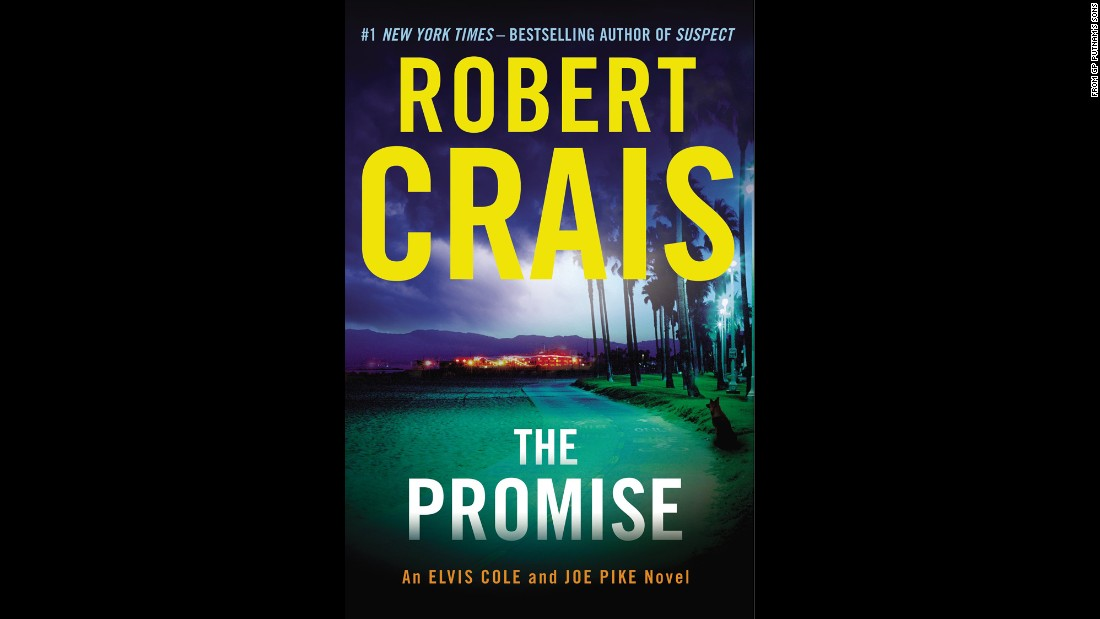 "In ""The Promise,"" bestselling author Robert Crais pairs Elvis Cole and Joe Pike with the heroes from his novel ""Suspect,"" Scott James and his K-9 partner, Maggie, to solve an extraordinary series of crimes. A missing woman worked for a defense contractor and was being blackmailed. An armed thief is found dead in an abandoned building filled with explosives. It's not clear whether any of our heroes will make it out alive."