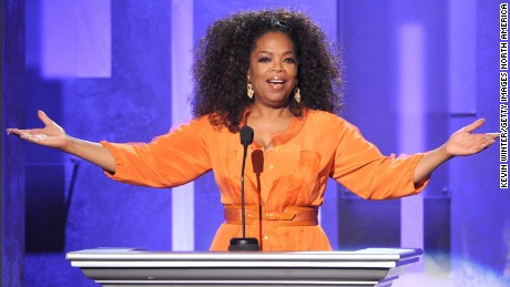 PASADENA, CA - FEBRUARY 22:  Oprah Winfrey speaks onstage during the 45th NAACP Image Awards presented by TV One at Pasadena Civic Auditorium on February 22, 2014, in Pasadena, California.  (Photo by Kevin Winter/Getty Images for NAACP Image Awards)