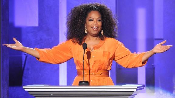Oprah Winfrey is wildly successful television host, entrepreneur ... and left-hander.