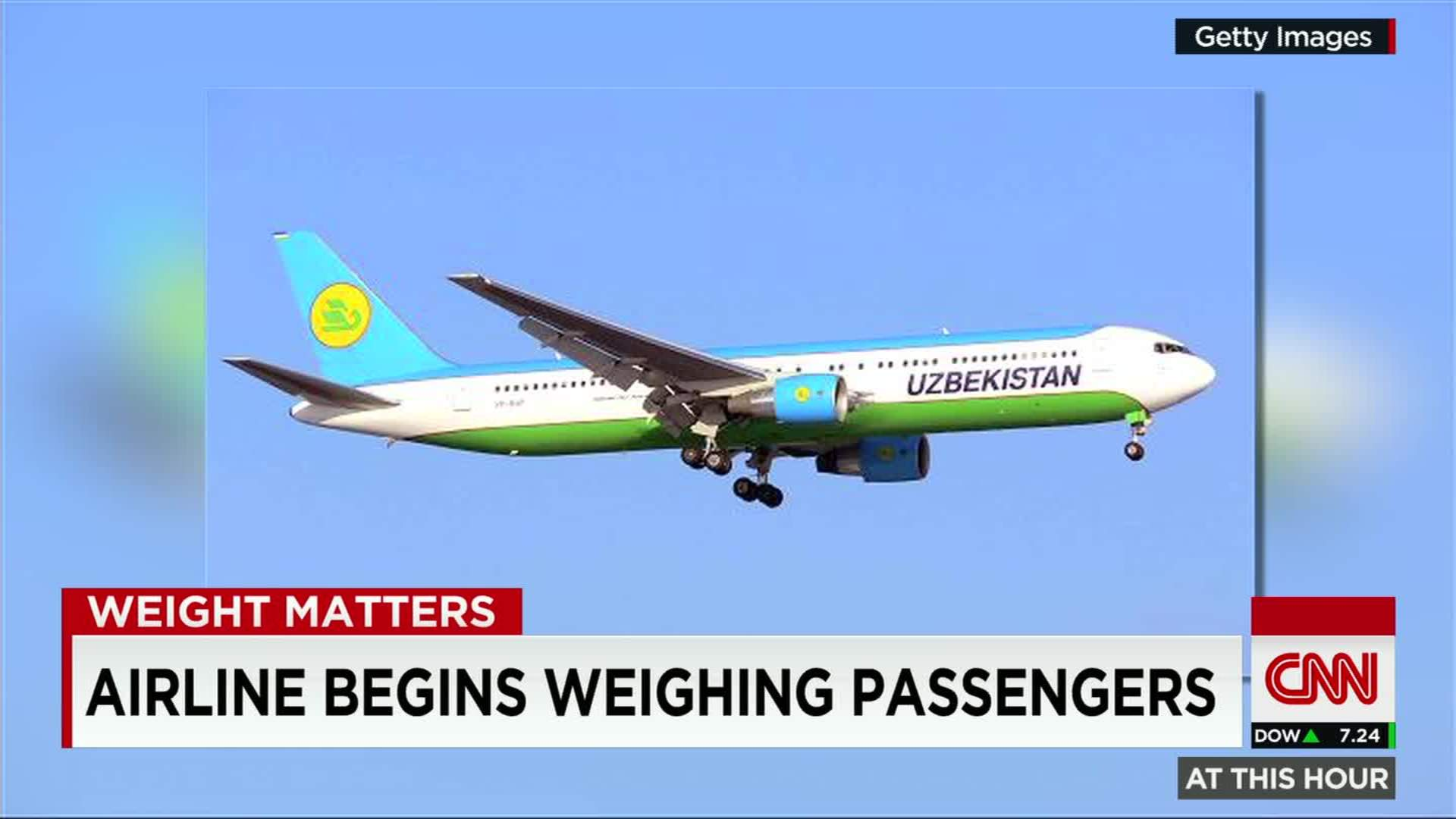 Airline Begins Weighing Passengers For How Would You Weigh A Plane Without  Scales