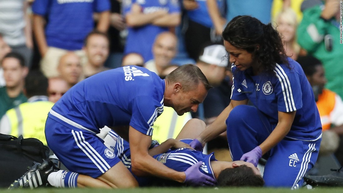Chelsea doctor Eva Carneiro and physio Jon Fearn had angered Jose Mourinho by entering the field of play to treat Eden Hazard during the 2-2 draw against Swansea City.
