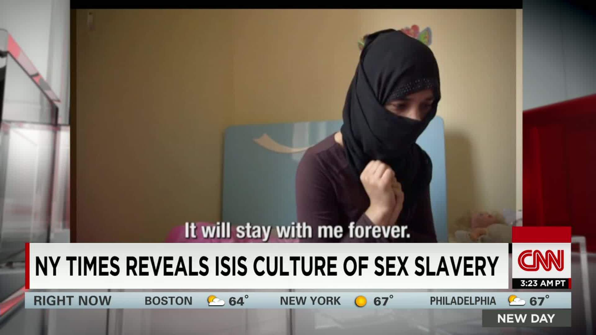 Sex slaves in new york