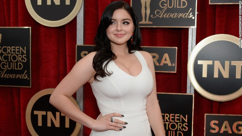Modern family ariel winter bikini sorry, that