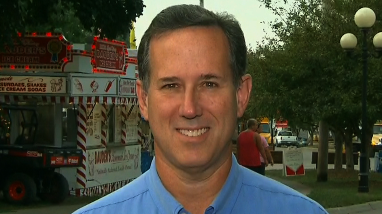 Santorum: I would not use fetal tissue for research