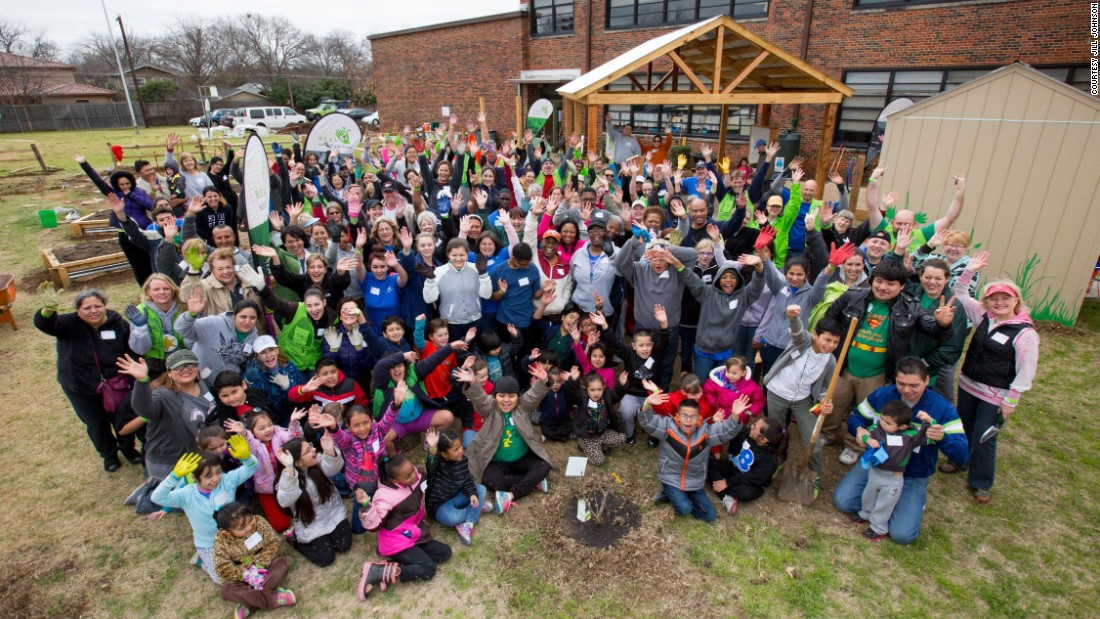 Students, Parents And Teachers At Sudie L. Williams Elementary School In  Dallas, Texas