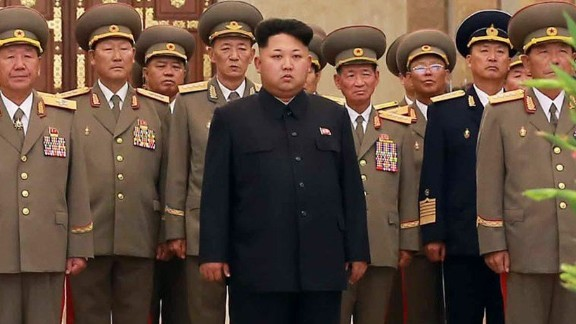 Caption: This picture taken by North Korea
