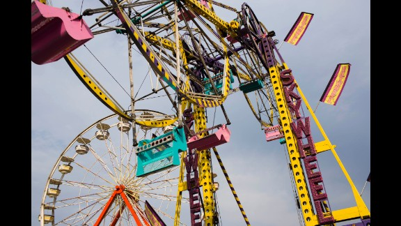 There are 19 rides at the fair, according to the fair website.