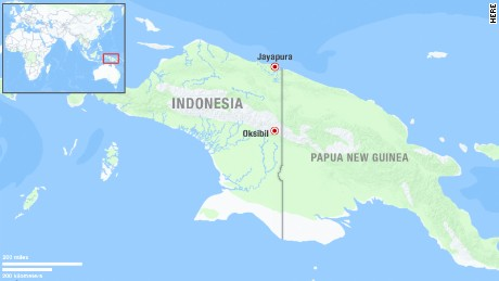 Indonesia police: Aircraft debris spotted