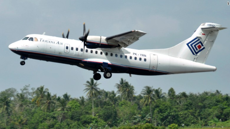 Officials: Villagers saw missing plane crash in Indonesia